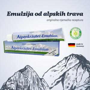 Emulzija od alpskih trava